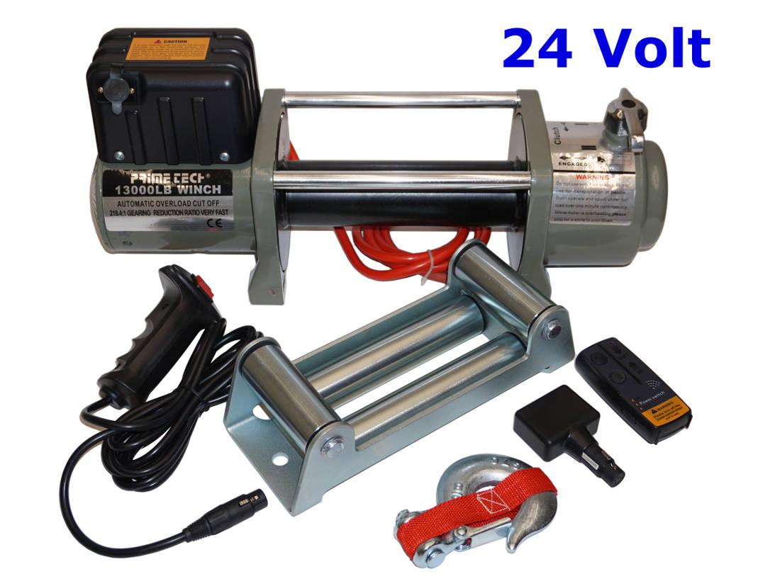 Teak Gartenmobel Mit Eisen : Prime Tech Elektrische Seilwinde 5900kg 24V Überlastschutz
